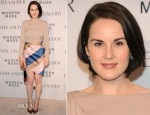 Michelle Dockery In Vionnet - Estee Lauder 'Modern Muse' Fragrance Launch Party