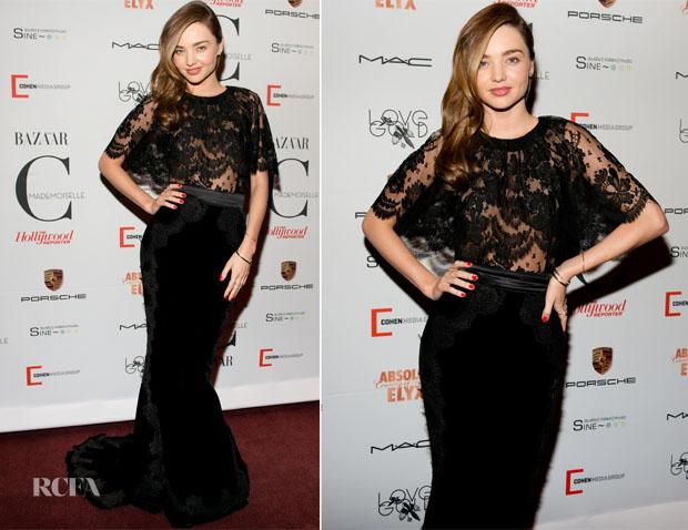 Miranda Kerr In Dolce & Gabbana -  'Mademoiselle C' New York Premiere
