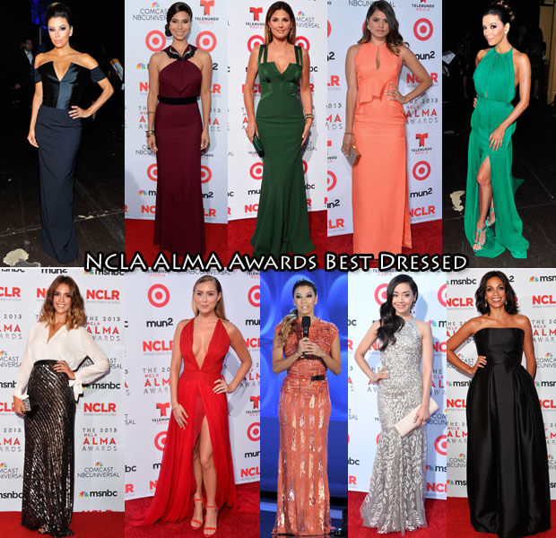 NCLA ALMA Awards Best Dressed
