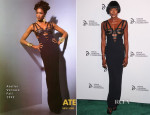 Naomi Campbell In Atelier Versace - 2013 Novak Djokovic Benefit Dinner