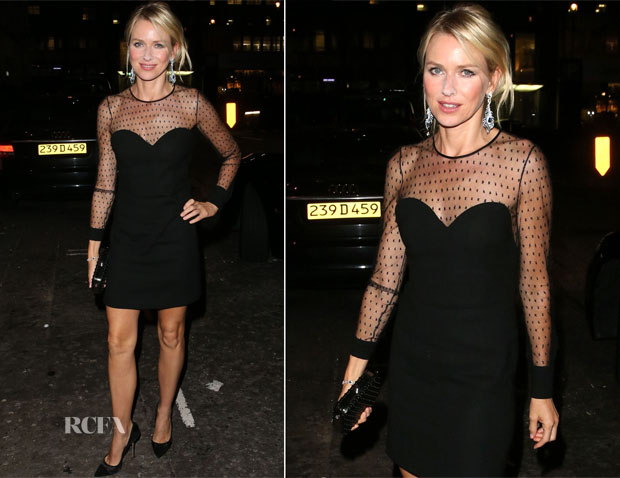 Naomi Watts In Saint Laurent - 'Diane' Premiere After-Party