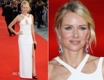 Naomi Watts In Versace - 'Diana' World Premiere