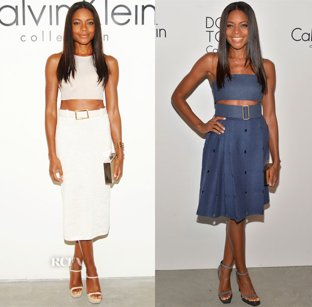Naomie Harris Calvin Klein Spring 2014 Show & After-Party
