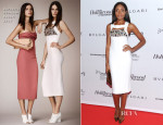 Naomie Harris In Burberry Prorsum - The Hollywood Reporter Inaugural Breakthrough in Film Awards