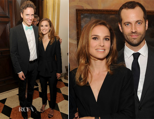 Natalie Portman In Christian Dior - Vacheron Constantin and AFPOB Private Reception