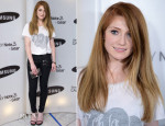 Nicola Roberts In Zoe Karssen & Paige Denim - Samsung's Galaxy Gear and Galaxy Note 3 Launch