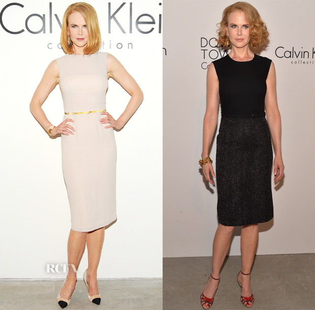 Nicole Kidman Calvin Klein Spring 2014 Show & After-Party