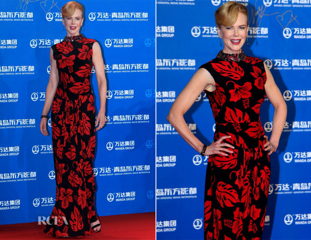 Nicole Kidman In Prada - Qingdao Oriental Movie Metropolis Opening Ceremony