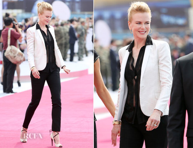Nicole Kidman In saint laurent  – Qingdao Oriental Movie Metropolis Ceremony