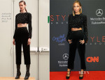 Nicole Richie In Antonio Berardi - 2013 Style Awards