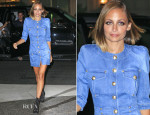 Nicole Richie In Balmain - Out In New York City