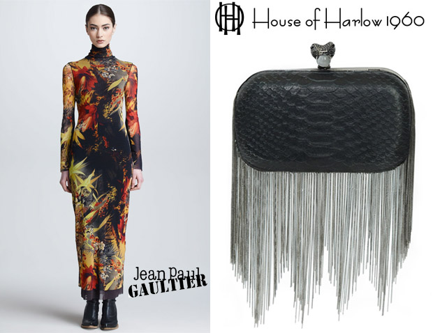 Nicole Richie In Jean Paul Gaultier House of Harlow