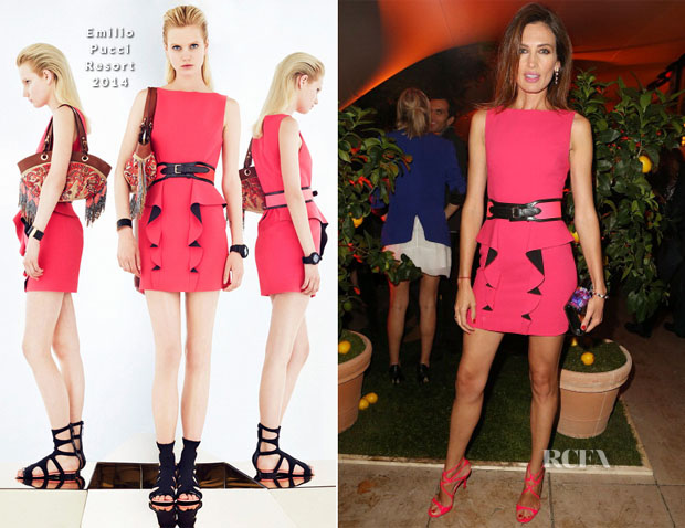 Nieves Alvarez In Emilio Pucci - Pucci Dinner Party