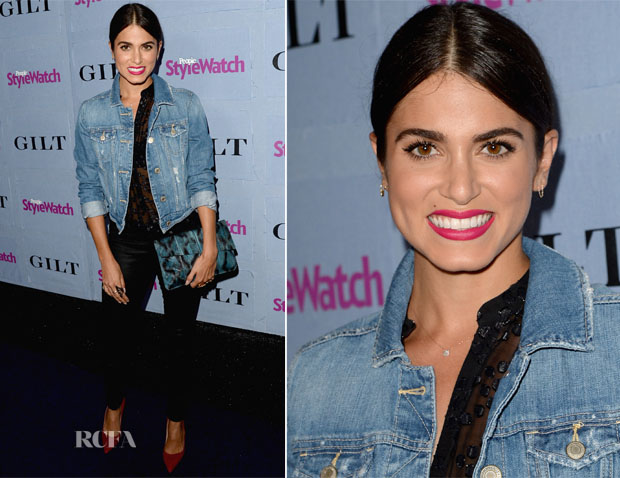 Nikki Reed In Smythe - People StyleWatch Denim Awards