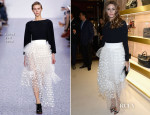 Olivia Palermo In Chloé - 'Chloe Attitudes' Book Launch Celebration