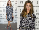 Olivia Palermo In Whistles - Stuart Weitzman's Milanese Flagship Store Opening