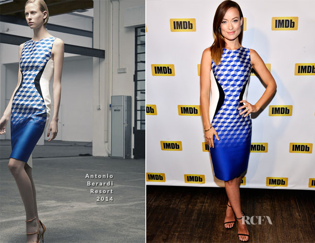 Olivia Wilde In Antonio Berardi - IMDb event