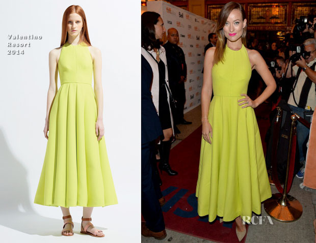 Olivia Wilde In Valentino - 'Third Person' Toronto Film Festival Premiere