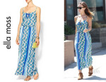 Olivia Wilde's Ella Moss 'Tiki' Maxi Dress