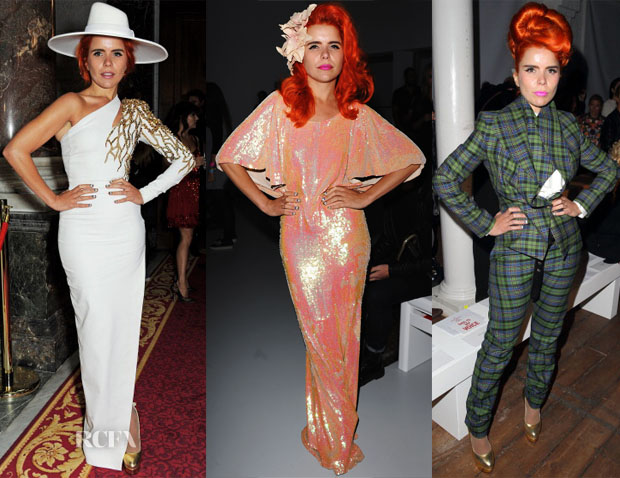 Paloma Faith Front Row @ Spring 2014 LFW