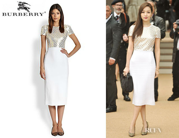 Patty Hou's Burberry Prorsum Studded Top Dress