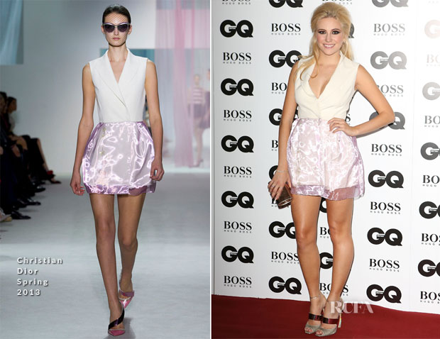Pixie Lott In Christian Dior - GQ Men of the Year Awards