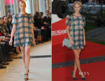 Poppy Delevingne In Emilia Wickstead - 'Rush' World Premiere