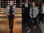 Rihanna In Saint Laurent - Out In London