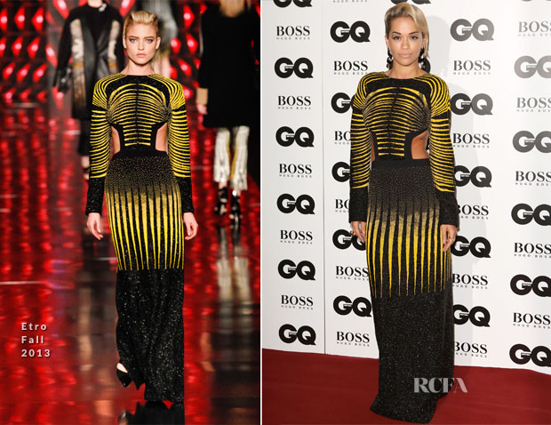 Rita Ora In Etro - GQ Men Of The Year Awards