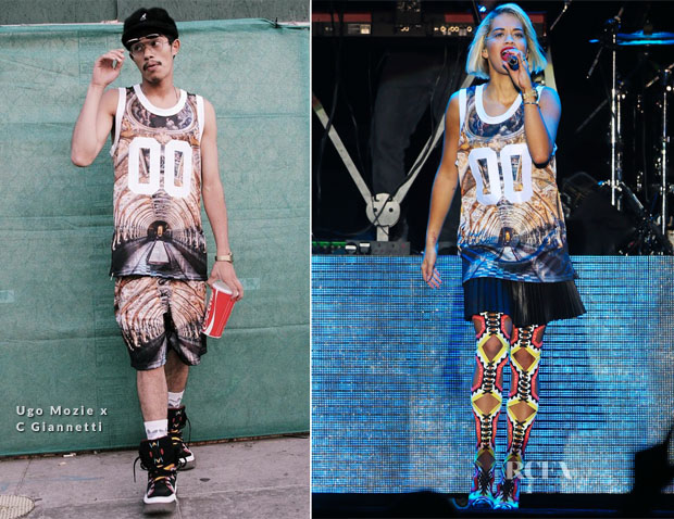 Rita Ora In Ugo Mozie x C Giannetti - Sundown Festival