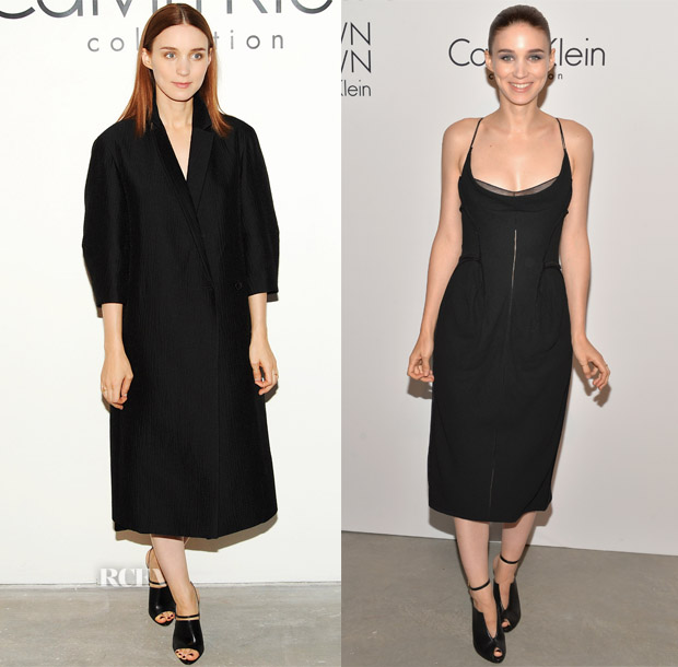 Rooney Mara Calvin Klein Spring 2014 Show & After-Party