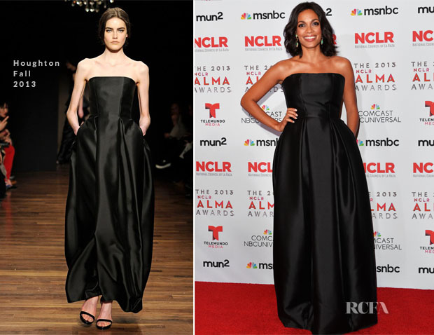 Rosario Dawson In Houghton – 2013 NCLA ALMA Awards