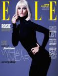 Rosie Huntington-Whiteley for Elle UK October 2013