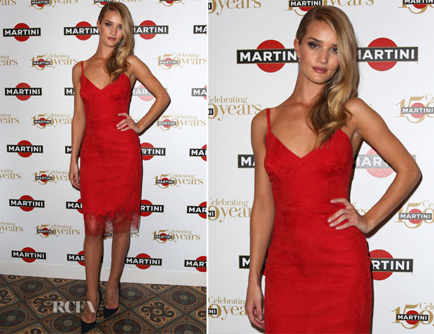 Rosie Huntington-Whiteley In Ermanno Scervino - MARTINI 150th Anniversary Gala