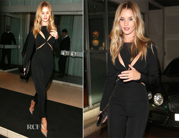Rosie Huntington-Whiteley In Stella McCartney - Elle Magazine Party