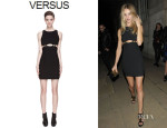 Rosie Huntington-Whiteley's Versus Cut Out Dress