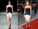 Sandra Bullock In Narciso Rodriguez - 'Gravity' Toronto Film Festival Premiere
