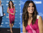 Sandra Bullock In Roland Mouret - 'Gravity'  Toronto Film Festival Press Conference