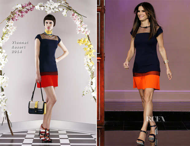 Sandra Bullock In Vionnet - The Tonight Show with Jay Leno
