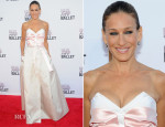 Sarah Jessica Parker In Prabal Gurung & Olivier Theyskens - New York City Ballet 2013 Fall Gala