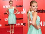 Scarlett Johansson In Roland Mouret - 'Don Jon' New York Premiere