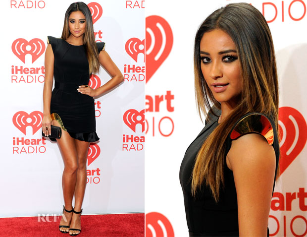 Shay Mitchell In Ralph & Russo Couture - iHeartRadio Music Festival