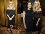 Sienna Miller In Alexander McQueen – Clinton Global Initiative
