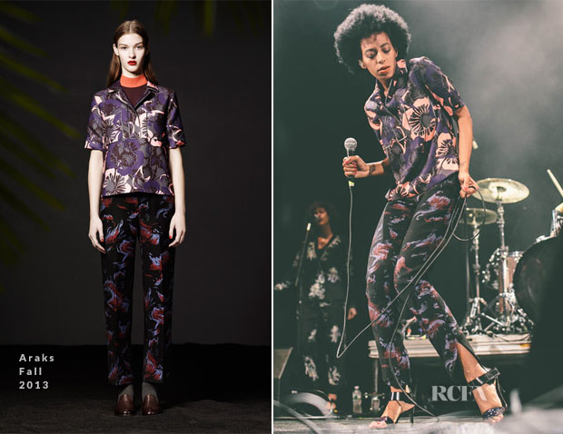Solange Knowles In Araks - Vampire Weekend