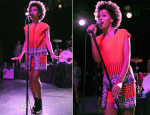 Solange Knowles In Etro  – 2013 Budweiser Made In America Festival