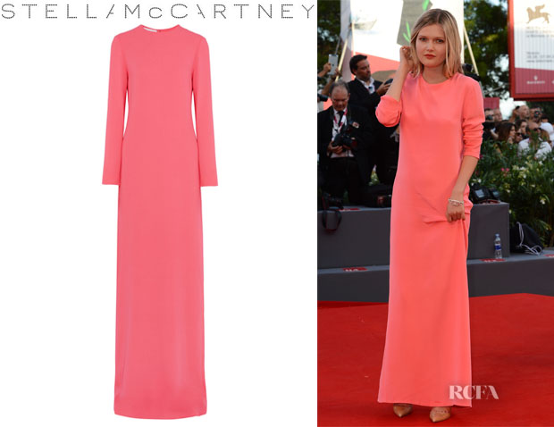 Sophie Kennedy Clark's Stella McCartney Stretch Crepe Gown