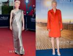 Tilda Swinton In Lanvin - 'Snowpierce' Deauville America Film Festival Premiere & Photocall