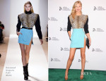 Toni Garrn In Emanuel Ungaro - The Novak Djokovic Foundation New York Dinner