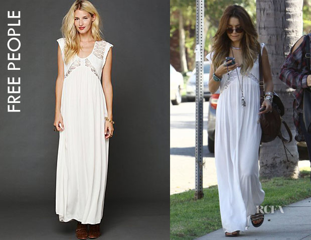 Vanessa Hudgens' Free People 'San Jose' Maxi Dress