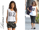 Vanessa Hudgens' Lovers + Friends 'Wasson' Muscle Tee